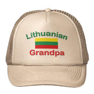Abuelo lituano gorras de camionero