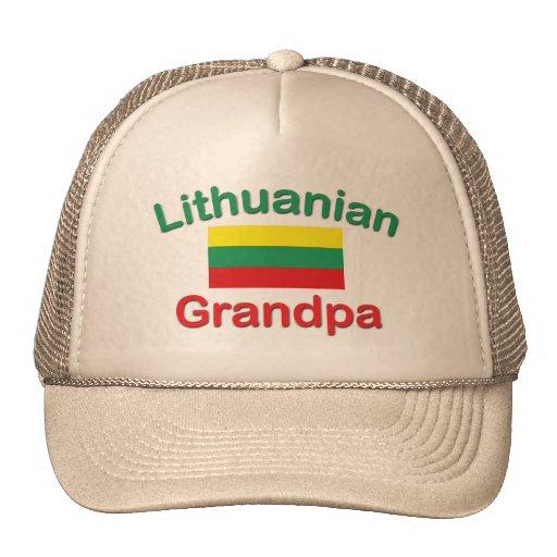 Abuelo lituano gorras