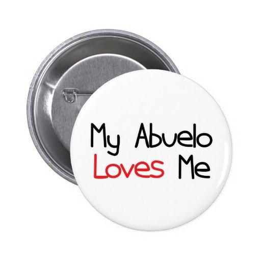 Abuelo Loves Me Pin