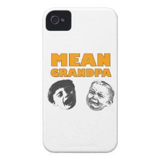 Abuelo malo Case-Mate iPhone 4 cárcasas