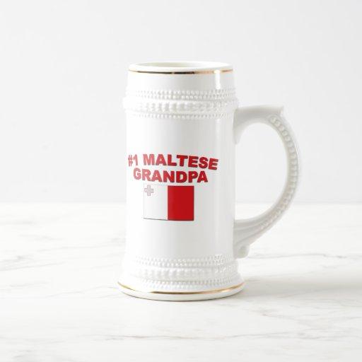 Abuelo maltés #1 jarra de cerveza