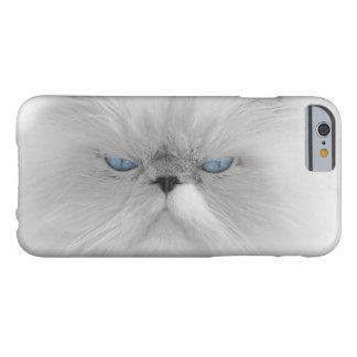 Abuelo malvado del gato gruñón funda para iPhone 6 barely there