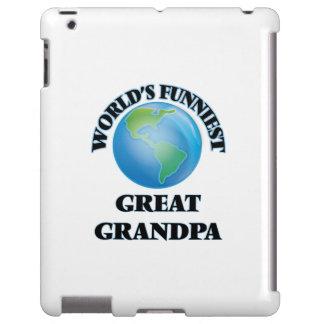 Abuelo más divertido del mundo el gran funda para iPad