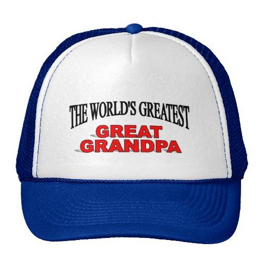 Abuelo más grande del mundo el gran gorro de camionero