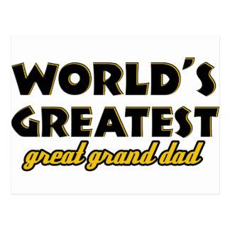 Abuelo más grande del mundo el gran postal