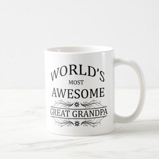Abuelo más impresionante del mundo el gran taza clásica