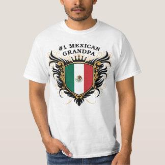 Abuelo mexicano del número uno poleras