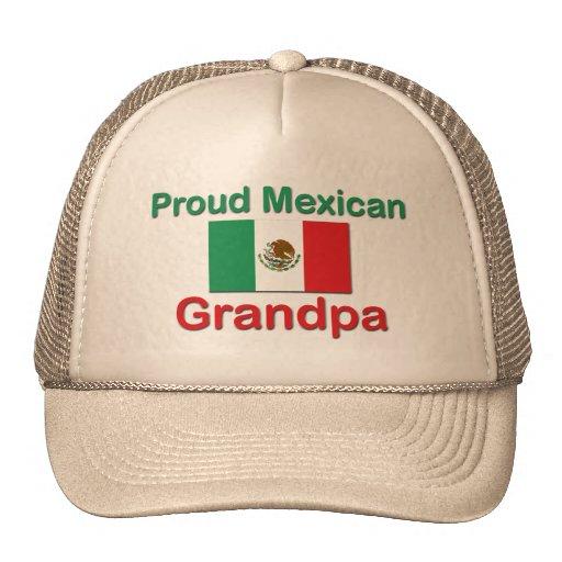 Abuelo mexicano orgulloso gorros
