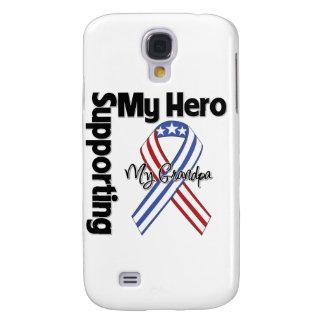 Abuelo - militar que apoya a mi héroe