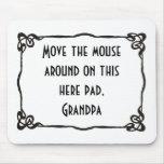 """""""Abuelo"""" Mousepad Alfombrilla De Ratón"""