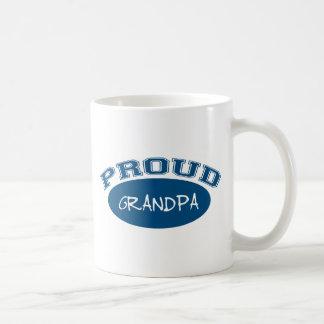 Abuelo orgulloso (azul) taza de café