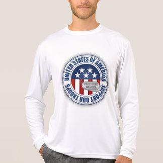 Abuelo orgulloso del guardacostas camisetas