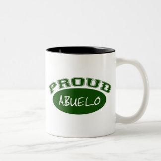 Abuelo orgulloso (verde) taza de café