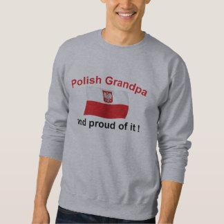 Abuelo polaco orgulloso sudadera