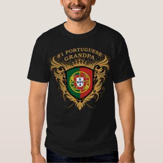 Abuelo portugués del número uno camisas