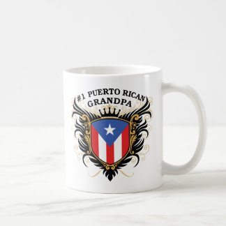 Abuelo puertorriqueño del número uno taza