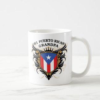Abuelo puertorriqueño del número uno tazas