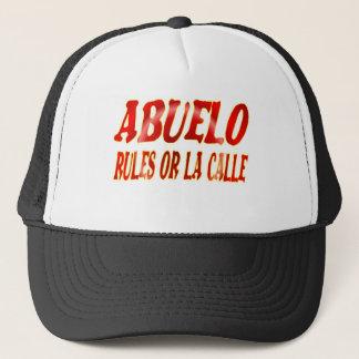 abuelo rules trucker hat