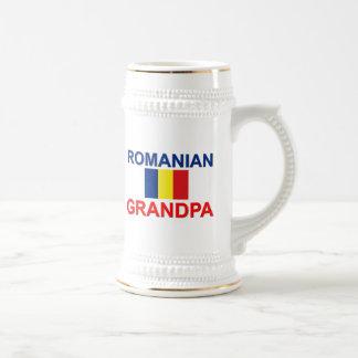 Abuelo rumano jarra de cerveza