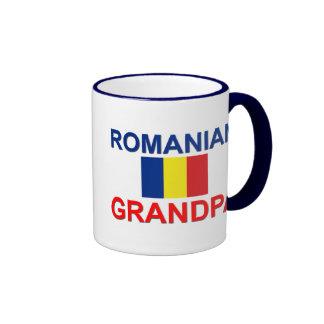 Abuelo rumano taza a dos colores