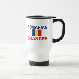 Abuelo rumano taza de viaje
