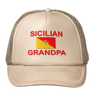 Abuelo siciliano gorro de camionero