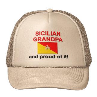 Abuelo siciliano orgulloso gorra