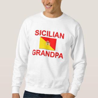 Abuelo siciliano sudaderas encapuchadas