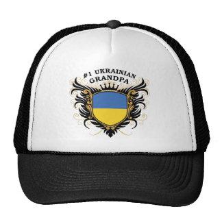 Abuelo ucraniano del número uno gorros