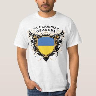 Abuelo ucraniano del número uno playera