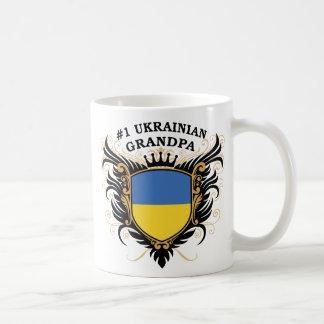Abuelo ucraniano del número uno taza de café
