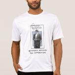 Abuelo y cigarro (humo del corazón) camiseta