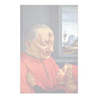 Abuelo y nieto de Domenico Ghirlandaio Papelería