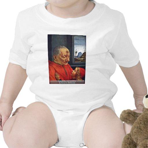 Abuelo y nieto de Domenico Ghirlandaio Trajes De Bebé
