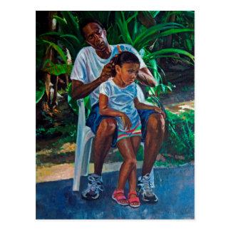 Abuelo y niño 2010 postales