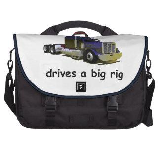 Abuelos camionero del nieto bolsas para ordenador