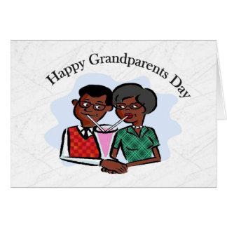 Abuelos felices Day2 Tarjeta De Felicitación