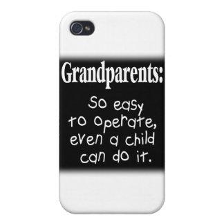 Abuelos iPhone 4 Cárcasas