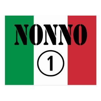 Abuelos italianos: Uno de Nonno Numero Postales