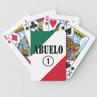Abuelos mexicanos: Uno de Abuelo Numero Baraja Cartas De Poker