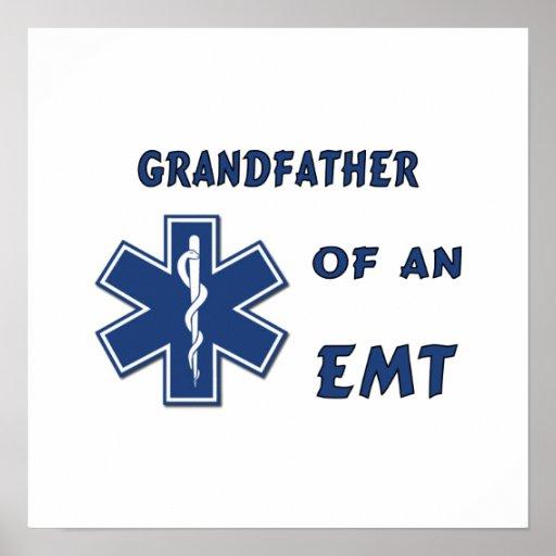 Abuelos orgullosos de EMT Posters