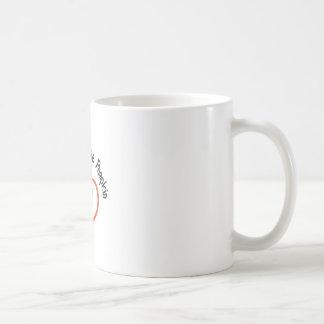 Abuelos poca calabaza taza básica blanca