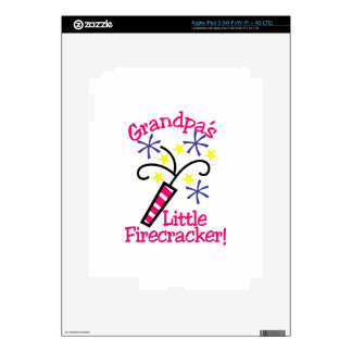 Abuelos poco petardo iPad 3 pegatina skin