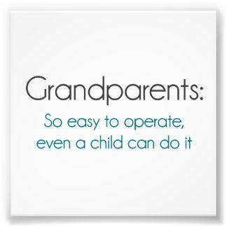 Abuelos tan fáciles actuar cojinete