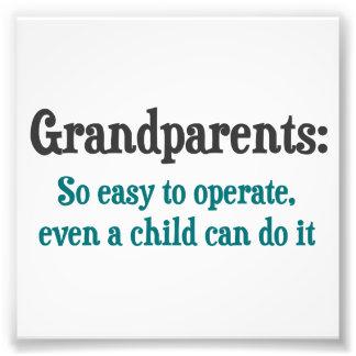 Abuelos tan fáciles actuar fotografías