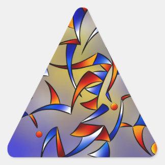 Abugila V5 Triangle Sticker