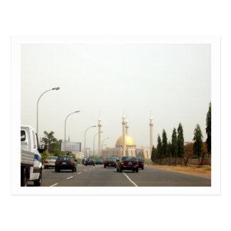 Abuja Central Mosque Postcard