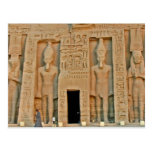 Abul Simbel (1) Postcard