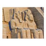 Abul Simbel (2) Postcard