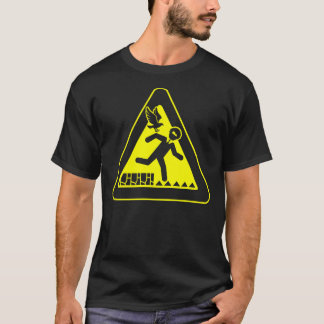 Abunai Shirt, Black, No Text T-Shirt